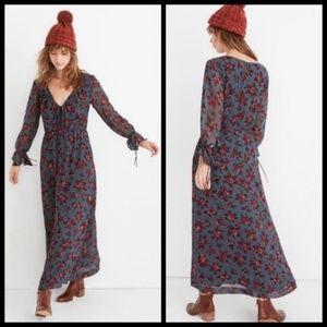 NWT Madewell Long Floral Dress - 2